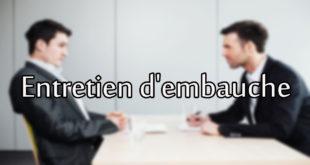 commet faire passer un entretien d'embauche ?