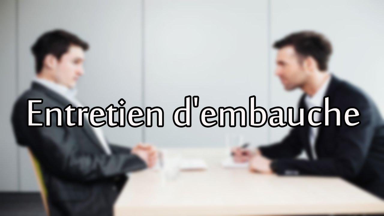 comment faire passer un entretien d u2019embauche   pr u00e9paration